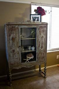 New, To, You, Antique, Distressed, Hutch