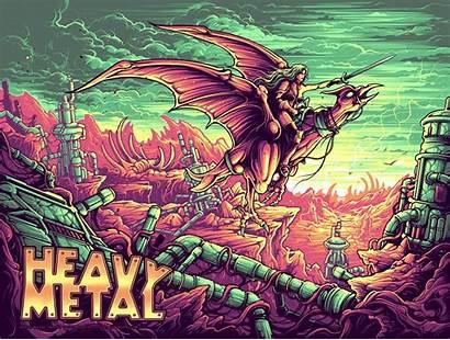Metal Heavy Dan Mumford Taarna Silk Artist