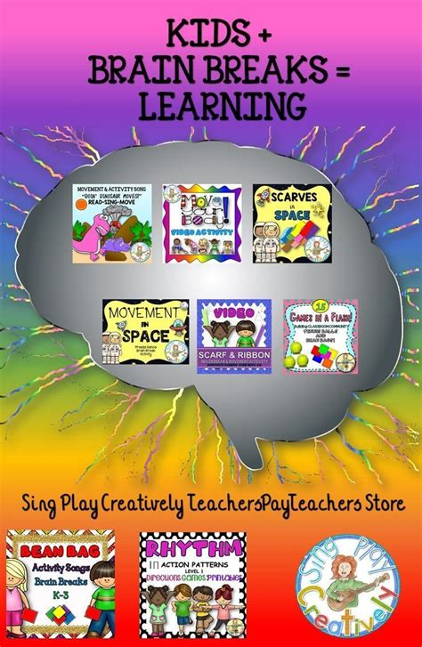 I love this activity so much. Brain Breaks, Activities, Games and Movement for Elementary, Preschool and Music… | Preschool ...