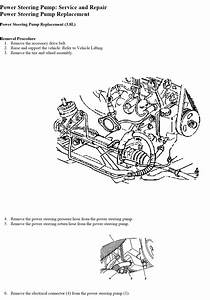 Buick Lacrosse Engine Diagram Power Steering Pump