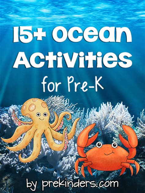 theme prekinders 572 | ocean activities