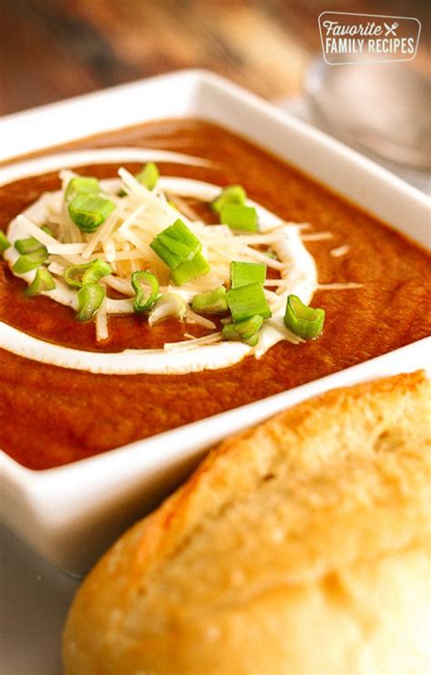 This Cafe Zupas Tomato Basil Soup Copycat is one of my ...