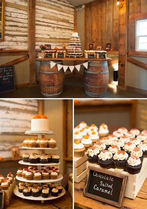 fall wedding desserts ideas  pinterest
