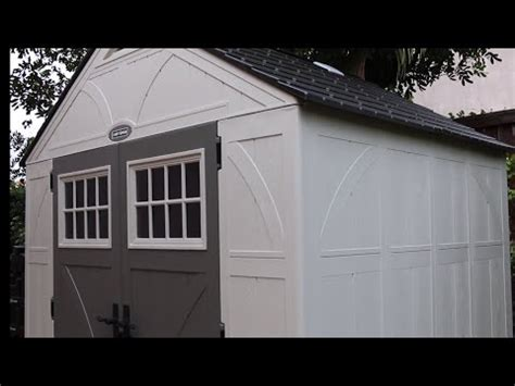 suncast sutton 7x7 shed suncast 7x7 shed from home depot doovi