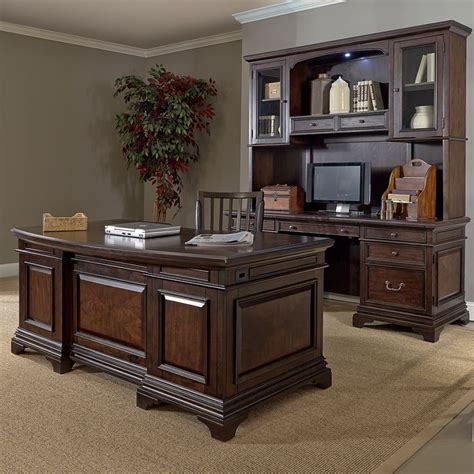 executive desk with hutch drake 72 inch executive desk and credenza with hutch by