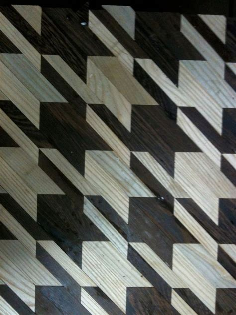 houndstooth coffeetable pattern pinterest floors