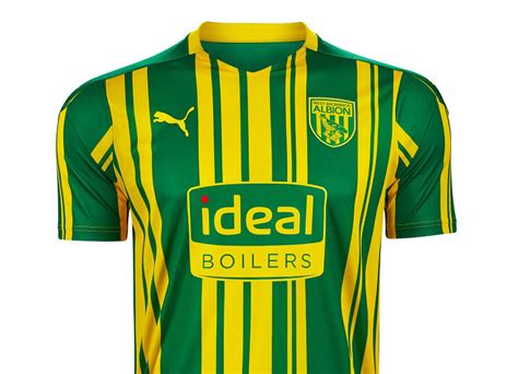 West Bromwich Albion 2020-21 Puma Away Kit | 20/21 Kits ...