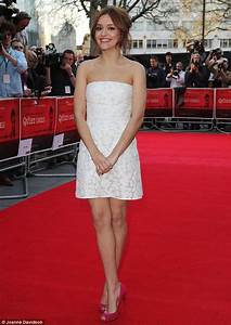 Laura Haddock joins husband Sam Claflin at The Quiet Ones ...