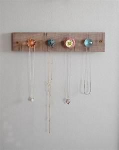 Fabriquer Un Porte Bijoux : diy fabriquer un porte bijoux mural bricobistro ~ Melissatoandfro.com Idées de Décoration