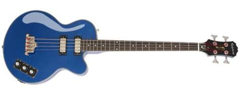 epiphone allen woody blue royale bass mcquade musical instruments