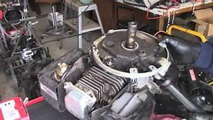 Kohler Xt6 Mower Engine Oil Leak Diagnose