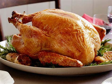 turkey recipes traditional roast turkey recipe alton brown food network
