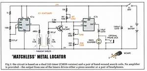 Circuits4you Com  Metal Detector Circuit