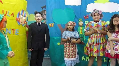 Apresentação Do Teatro Sitio Do Pica Pau Amarelo Youtube