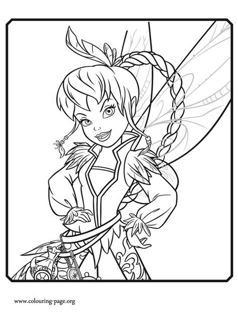 17 Best images about TINKERBELL COLORING PAGES on