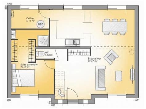 plan maison 4 chambres suite parentale plans de maison rdc du mod 232 le city maison moderne 224