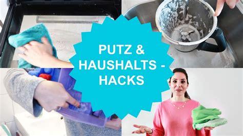 Hacks Haushalt by Putz Haushalts Hacks