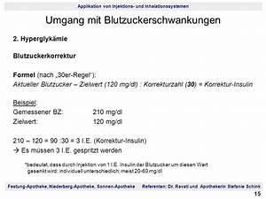 Blutzucker Berechnen : applikation von injektions und inhalationssystemen ppt herunterladen ~ Themetempest.com Abrechnung