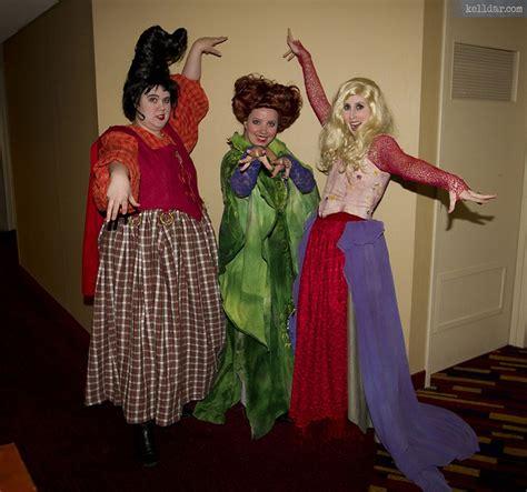 Hocus Pocus Sanderson Sisters Halloween Costumes