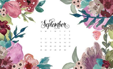Artsy Fall Computer Backgrounds by September 2016 Calendar Desktop Dawnnicoledesigns Jpg