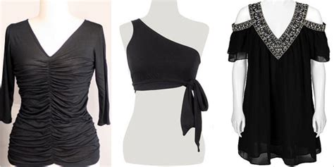 simple black tops  girls  etsy girlshue