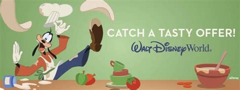 quick service meal offer  walt disney world