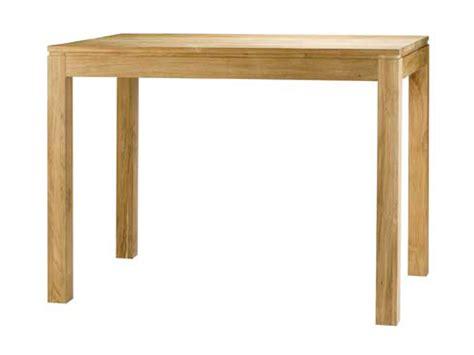 table haute cuisine bois fabriquer table haute cuisine maison design bahbe com
