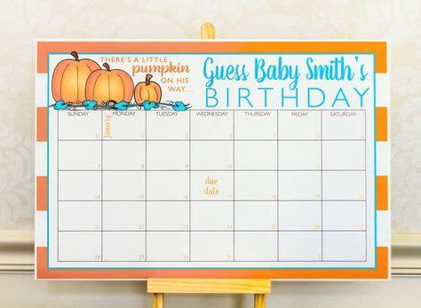 planning  baby shower check    pumpkin baby