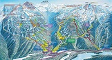 Whistler Trail Map - Whistler Canada • mappery