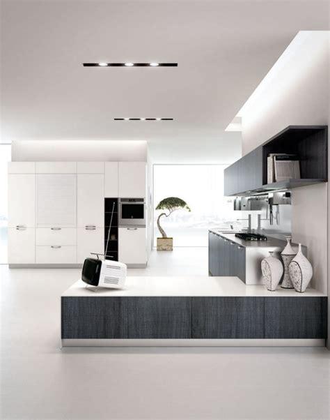 cuisine blanche moderne cuisine blanche et grise 30 designs modernes et élégants