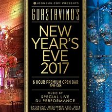 New Years Eve At Guastavino's  6 Hour Premium Open Bar  Tickets  Guastavino's, New York, Ny