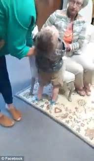 Georgia Woman Videos Her Son Being Bent Over A Chair So He Could Be Paddled Daily Mail Online