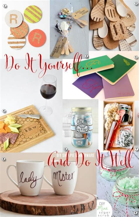 holiday gift guide do it yourself christmas pinterest