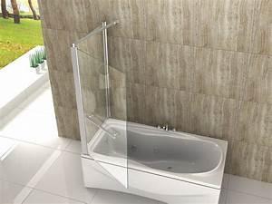 Duschtrennwand Badewanne Glas : duschwand oblante 70 75 80 80x140 eck badewannen faltwand ~ Michelbontemps.com Haus und Dekorationen