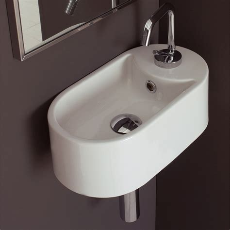 Seventy Collection Wall Mounted Sink  Zuri Furniture