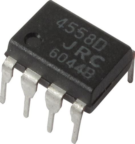 Integrated Circuit Dual Amp Amplified Parts