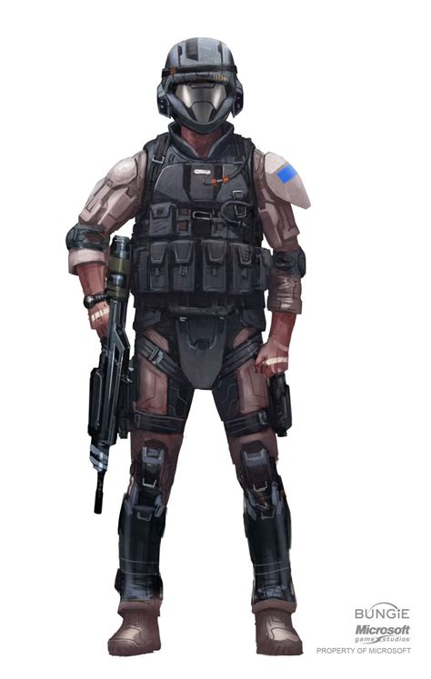 Halo 3 Concept Art Update 12210 Halo Armor Halo