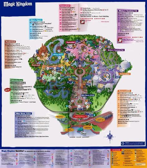 magic kingdom park map orlando fan art  fanpop