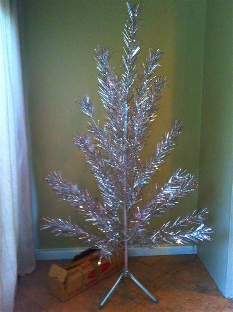 aluminum christmas trees for ssle mi vintage aluminum tree retro vintage and