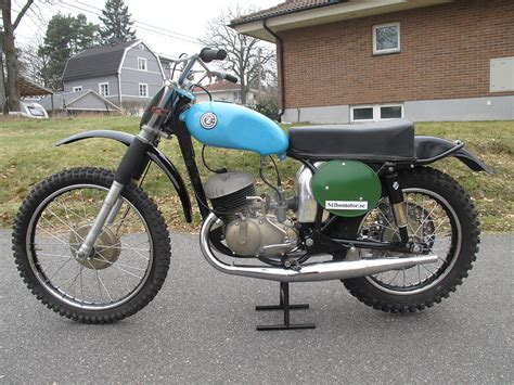 1964 Cz 250cc Type 968 Twin Pipe Magnesium Engine