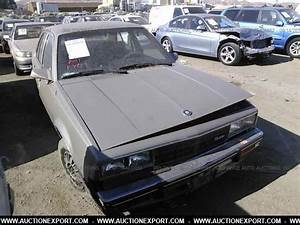 Used 1983 Cadillac Cimarron Car For Sale At AuctionExport