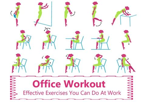 fitneass ways to exercise at work without being obvious