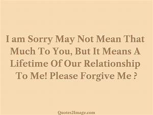 Please Forgive Me - Sorry - Quotes 2 Image