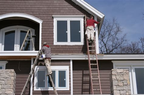 Exterior Painting : Remove The Dullness And Uninteresting Outlooks In Your