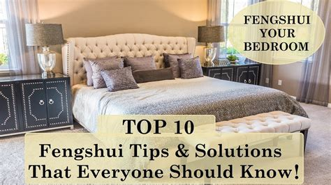 Top 10 Feng Shui Your Bedroom Tips & Solutions  Feng Shui