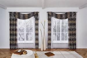Kräuselband Vorhang Wie Aufhängen : gardinen ber stange drapieren gardinen 2018 ~ Markanthonyermac.com Haus und Dekorationen