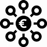 Income Crowdfunding Icon Investment Euro Funds Finance