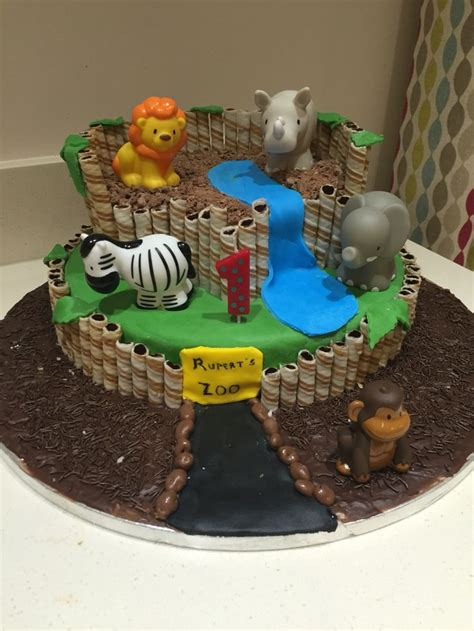 HD wallpapers zoo themed birthday cake ideas