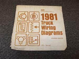 1981 Ford Bronco Courier Econoline Original Electrical