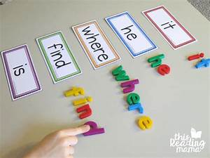 learn to read an word family reader and activities this With magnetic letters and words
